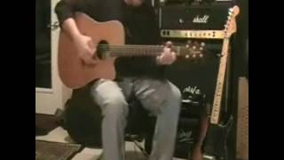 """Unplugged acoustic studio cover of the 80s ballad """"love a lifetime"""" by firehouse"""