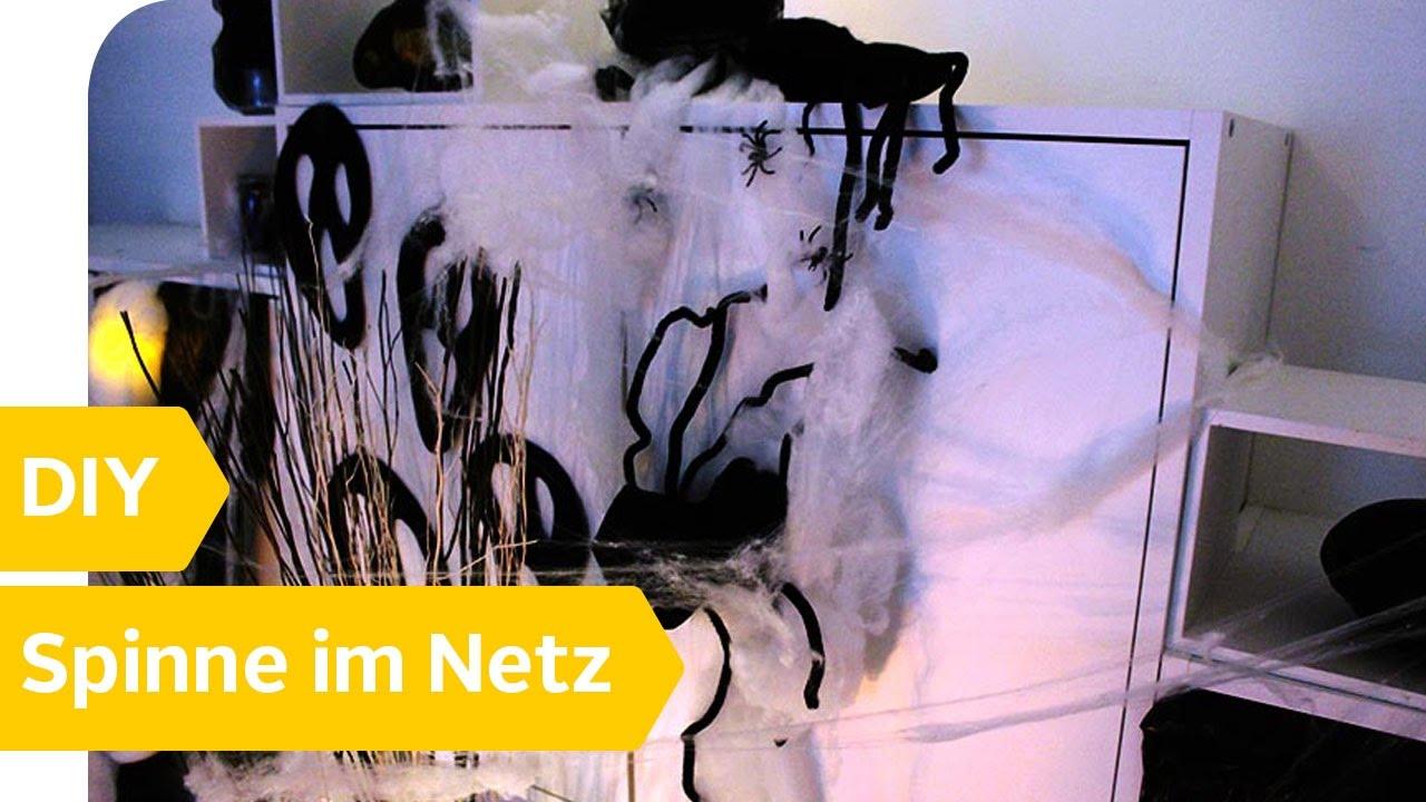 Netz Selber Machen gruselige tischdeko selber machen spinne im netz