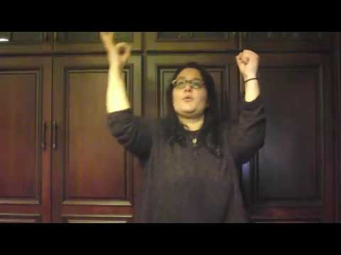 Castle on the Hill - Ed Sheeran in American Sign Language