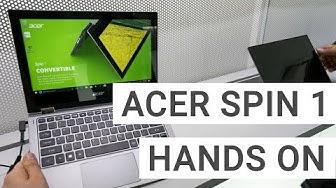 Acer Spin 1 Convertible: Mein erster Eindruck | Deutsch