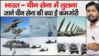 Fire Power of India & China | Power Of Chinese Army | Compare Indian & Chinese Army | Military Power
