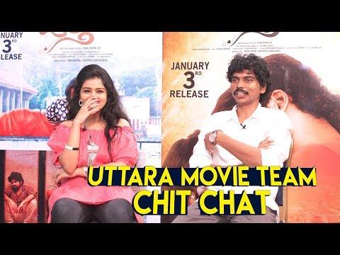 Uttara Movie Team Funny Chit Chat || | Sreeram | Karronya || Uttara Interview || Ig telugu