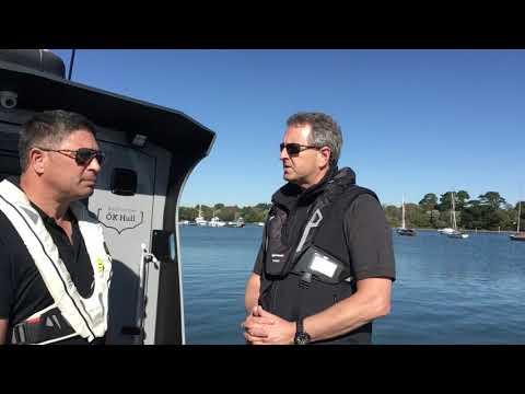 RIB & HSC with TB Maritime explaining Rafnar Hull phenomena