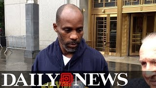 DMX leaves Manhattan Criminal Court