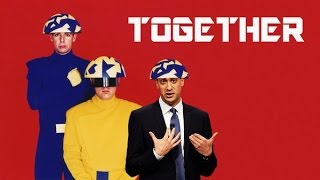 "Ed Miliband uses the word ""Together"" quite a lot - Newsnight playout"