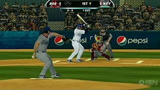Major League Baseball 2K10 Nintendo Wii Gameplay - Yanks