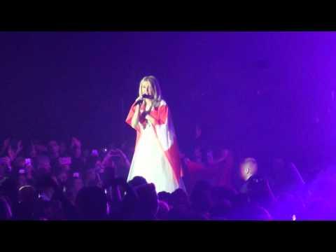 Ellie Goulding Zurich 28.02.16 Army