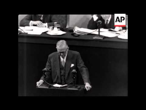 GEORGE MARSHALL'S SPEECH AT UNO ASSEMBLY
