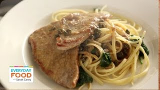 Chicken Or Veal Piccata - Everyday Food With Sarah Carey