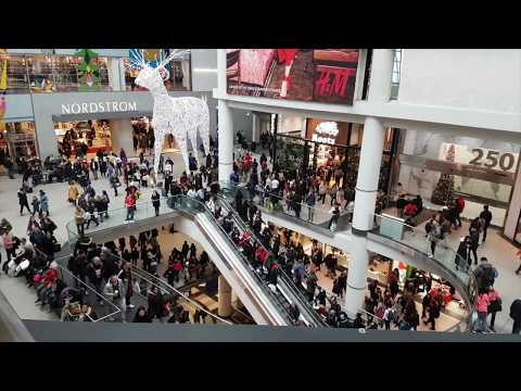 Boxing Day Rush @ Toronto Eaton Centre December 26, 2018