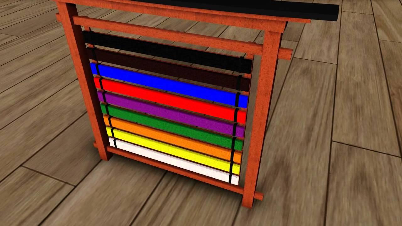 Karate belt display ideas - Karate Belt Display Ideas 48