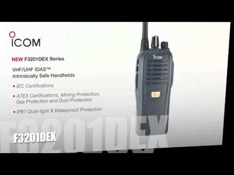 New Icom Two Way Business Radio Solutions in 2014!