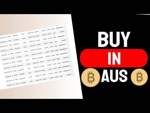 How To Buy Bitcoin In Australia [Step By Step]