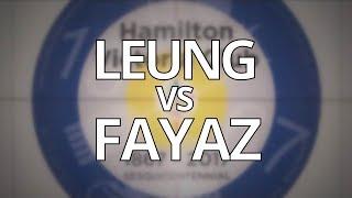2018 ONT U-18 Championship - LEUNG vs FAYAZ