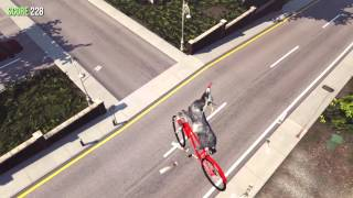Goat Simulator 1.1 patch early footage - BICYCLE