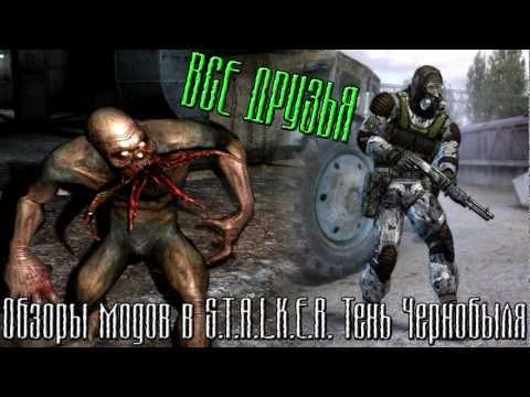 S.T.A.L.K.E.R. Тень Чернобыля: Обзоры Модов #1 - Все Друзья