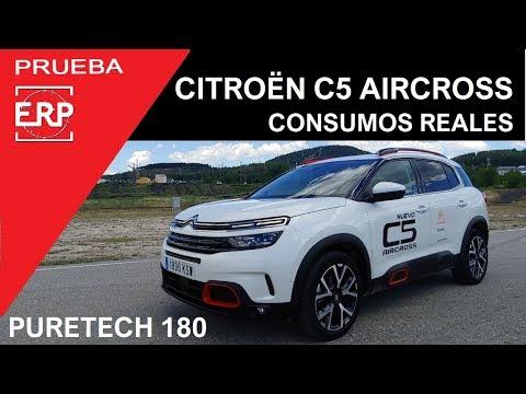 Citroën C5 Aircross Puretech 180 Consumos REALES. Prueba / Test / Review