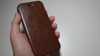 Elago S6 Leather Flip Case Review for iPhone 6/6S