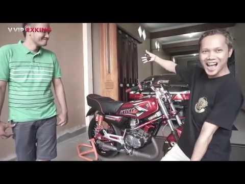 RX-KING Merah Anto Kremes Biaya Modif Nya Bikin Ngilu 😔😔