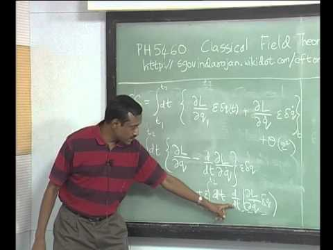 NPTEL :: Physics - Classical Field Theory
