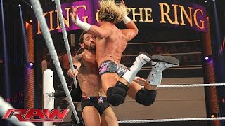 Dolph Ziggler vs. Bad News Barrett – King of the Ring First Round Match: Raw, April 27, 2015