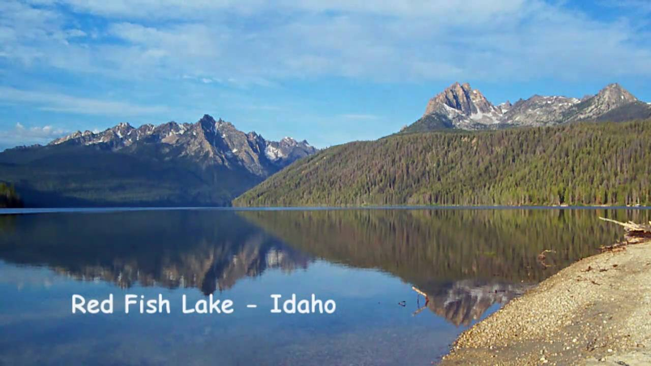 Red fish lake sawtooth mountains idaho u s a youtube for Idaho out of state fishing license