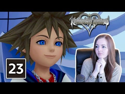FRIENDS UNTIL THE END | Kingdom Hearts Chain Of Memories Ending Gameplay Walkthrough Part 23
