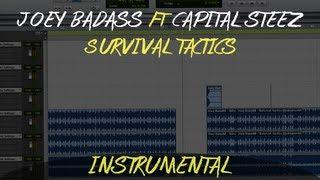 Joey Bada$$ Ft. Capital STEEZ - Survival Tactics (Instrumental) [Download in Description] Video