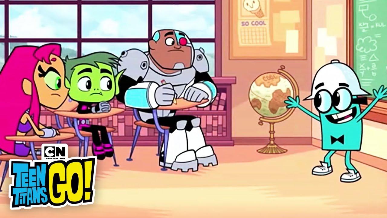 Titans cool school i teen titans go i cartoon network for Coole hochbetten fa r teenager
