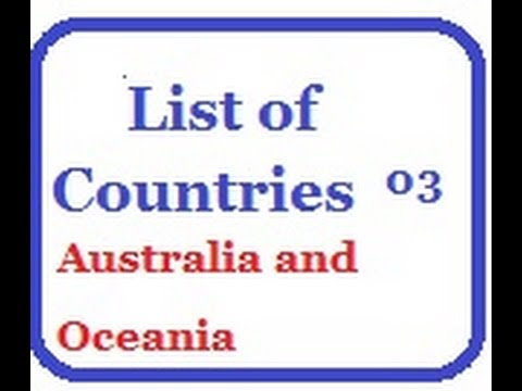 List of Countries 03