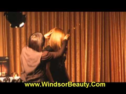 Windsor Beauty Supply - FIRST ANNUAL HAIR SHOW - Schwarkopf Demo   3EF