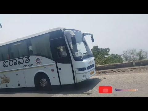 Hot pursuit with KSRTC VOLVO B9R@wayanad ghat!!!!