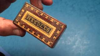 Tunbridge Ware Needle Box, C.1850