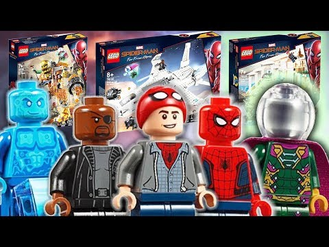 LEGO Spider-Man Far From Home Sets Images!