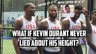 What if KD Never LIED About His HEIGHT? - NBA 2K16 MyLeague