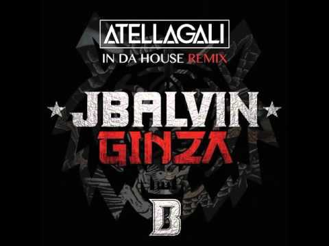 J. Balvin Feat. DJ Angel David - Ginza (Atellagali In Da House Remix/Audio)
