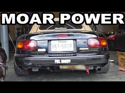 MORE POWER! Project Miata Header Install!