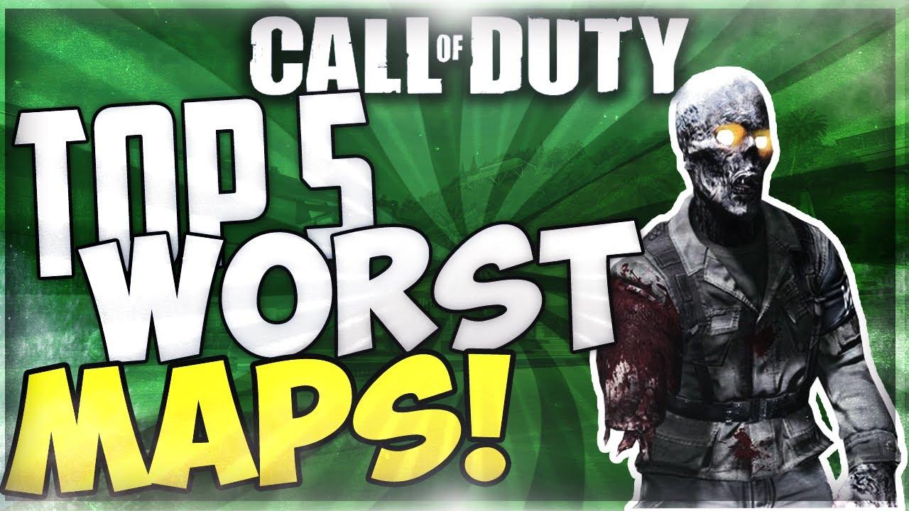 Top 5 WORST Zombie Maps\