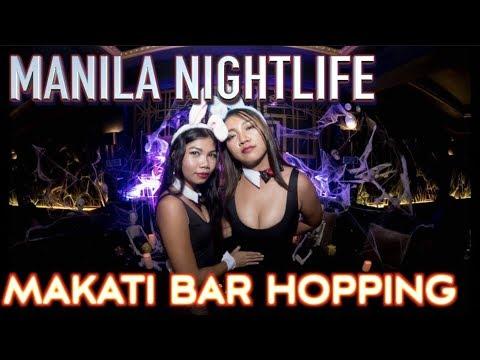 Makati bar hopping All night party  Ayala to Poblacion Manila Nightlife