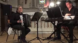 ALAIN MUSICHINI DUO 2015  (JS.BACH ) CONCERTO N°1 en DOm (FINAL)