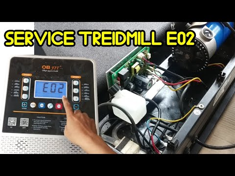 Download cara mengatasi treidmill error E02, service treidmill mati total !!