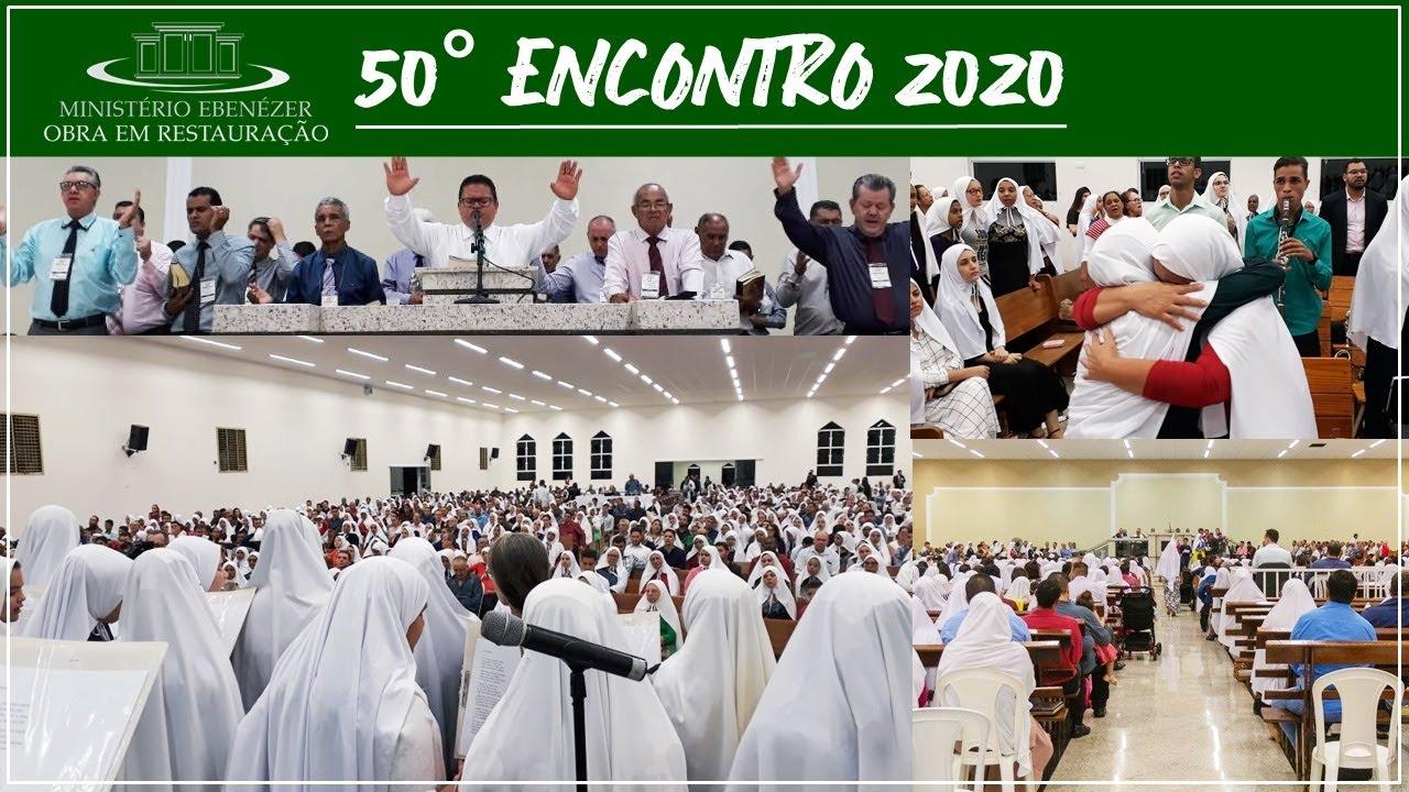 Momentos do nosso 50� Encontro 2020 - C�u, morada de meu Deus
