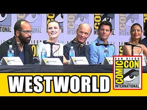 WESTWORLD Comic Con Panel  Season 2,  & Highlights