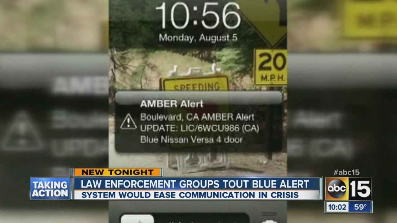 A Blue Alert emergency notification was sent out in Arizona. Here's ...