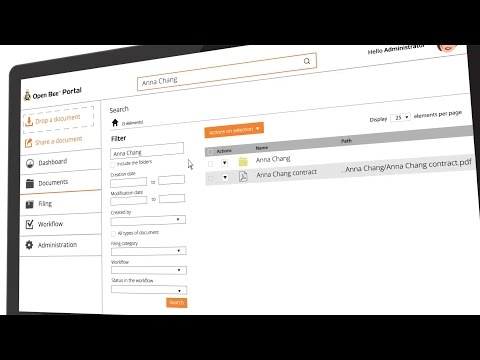 Open Bee™ Portal: Document Management Solution (DMS)
