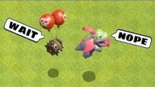 COC Funny moment | Glitches, wins and fails compilation | clash of clans | 2018