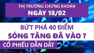 Nhận Định Thị Trường Chứng Khoán Ngày 18/02: Vnindex Tăng Mạnh Đầu Năm | Cổ Phiếu Dẫn Dắt