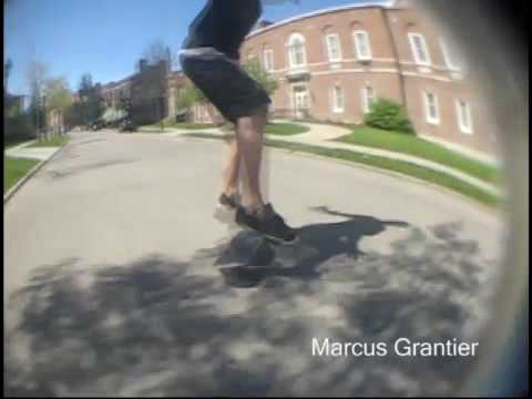 Marcus Grantier and Wil Waldon for Invasion Skateboards