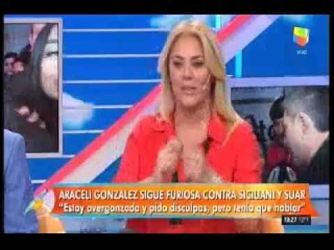 Jorge Rial, duro con Araceli González