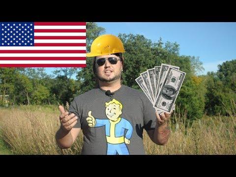 Как зарабатывают в америке